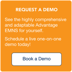 See a custom live demo of the Advantage emergency mass notification system