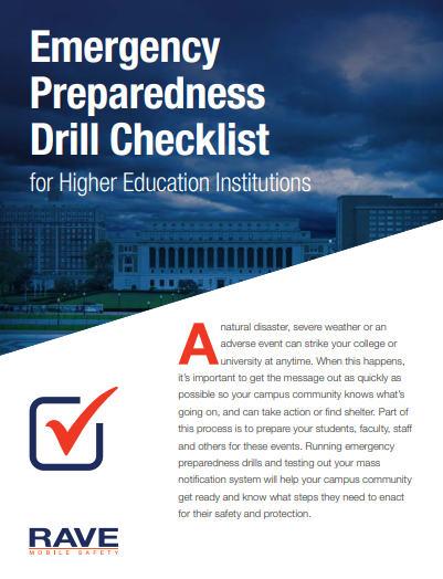 emergency_preparedness_drill_checklist_for_higher_education_institutions